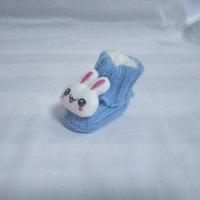 kid shoes tenis bebe Hand knitted baby shoes soft soled shoes soft bottom cartoon thickening woolen children's shoes