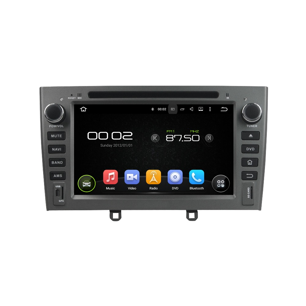 7″ Octa-core Android 6.0 Car Multimedia Player For Peugeot 408 2007-2010 Car Video Audio Stereo Free MAP Canbus Car DVD Player
