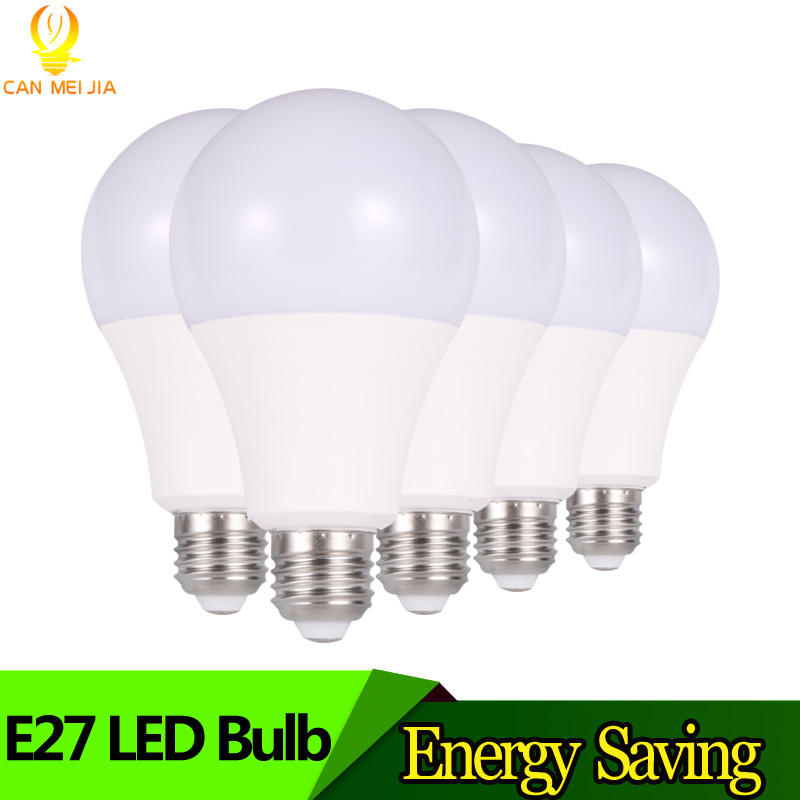 Super Bright LED Bulb Light E27 Lampada 3W 5W 7W 9W 12W 15W B22 Ampoule Led Lights 220V indoor for Home decor Cold White new super bright led bulb e27 12w 16w 30w 50w 220v cold white warm white round led light lamp 5730 chip for house home office
