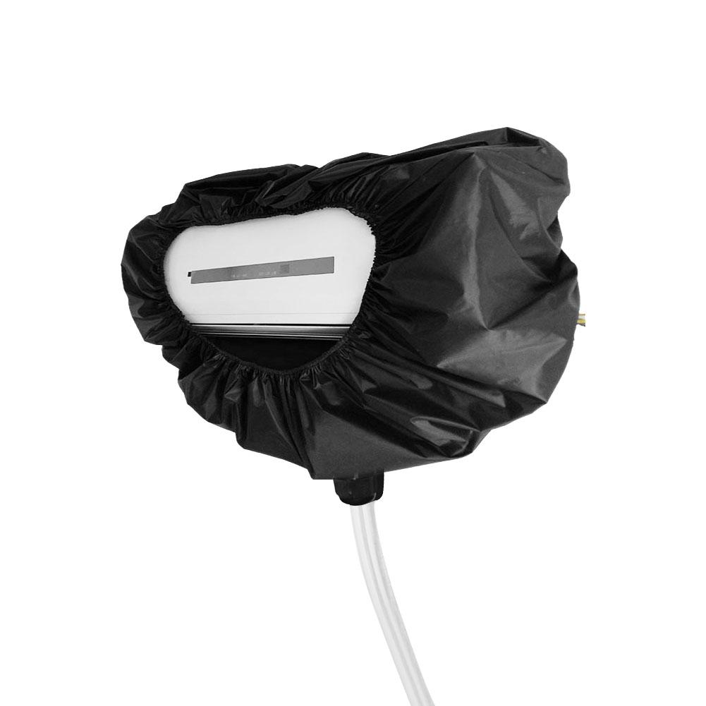 Air Conditioner Cleaning Cover Hanging Machine Waterproof Household Cleaning Dust Cover Housekeeping Organization