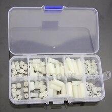 M3 нейлоновые шестигранные прокладки винт гайка Ассортимент Комплект Стенд от пластиковых аксессуаров