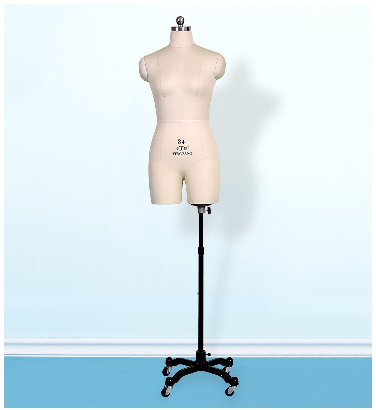 Costume mannequin model and prop woman bust draping mannequin With legs Standard model for cutting mannequin