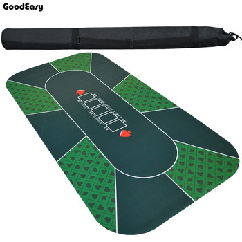 180*90 см замша Резина Texas Hold'em казино скатерть для покера зеленый настольная игра мат с цветочным узором высокое качество