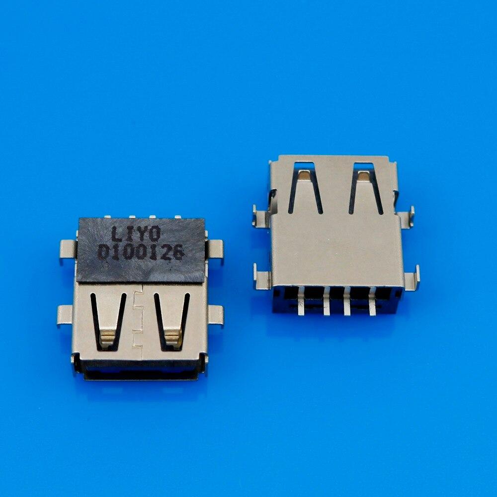 1 pcs Laptop 2.0 USB jack socket port connector suitable for notebook Acer E1-571G 571G