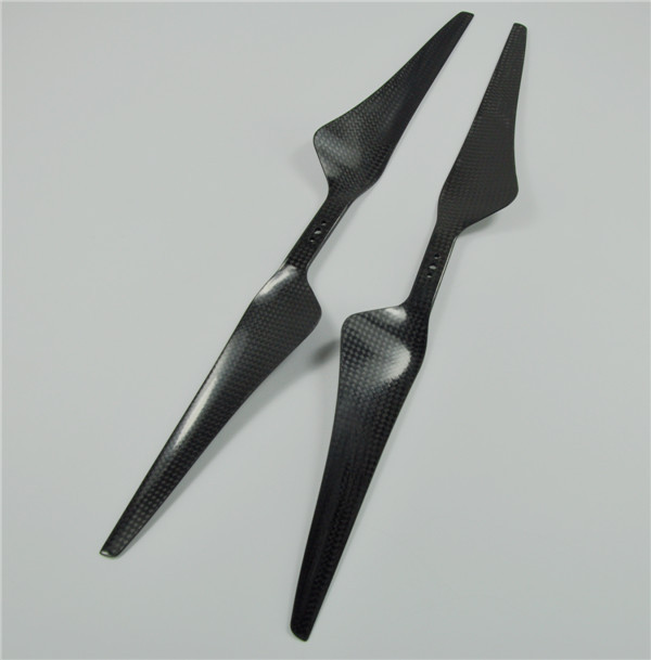 1 Pair of Black 1555 15x5.5 Tarot Carbon Fiber Propeller CW/CCW Cons Blade For Hexacopter Octcopter Multi Rotor UFO цена