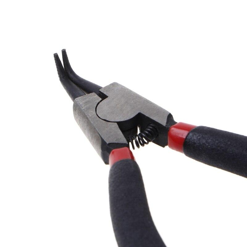 Clever 5 Zoll 120mm Sicherungsring Zange Excurved Interne Gebogene Sicherungsring Zange Haushalts Sicherheit Zangen Neue Warm Und Winddicht Zangen Werkzeuge