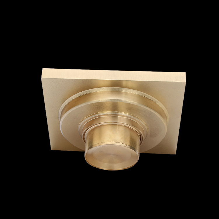 Sanitary Ware Bathroom Accessories Golden Brass WC Shower Drain Anti Odor  Square Floor Drains Trench Drain Rain Stopper Bathtub-in Drains from Home