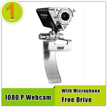 Hot Sale Webcam HD 1080p With Microphone,Maximum Resolution 1600x1200 Free Drive Web Camera With Mic For PC Laptop