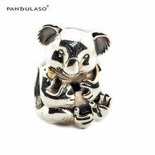 Koala Beads Fit Pandora Charms Pulsera Plata 925 Original 2016 nueva Perlas para La Joyería de Las Mujeres Amor de Plata DIY 925 joyería
