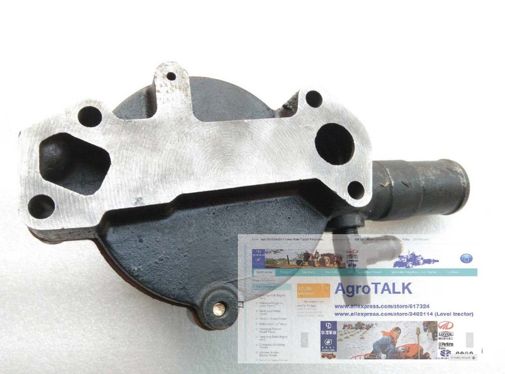Yangdong YND485, the water pump, pump has two holes for water inlets the reciprocating pump