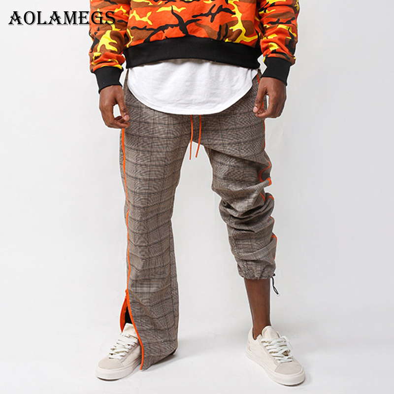 Mens Lightweight Sweatpant Orange Octopuses Sweatpants with Size S-3XL