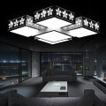 New Modern Bedroom Crystal Light Living Room foyer home led ceiling lights 90-260V Lighting Fixtures art white lamps