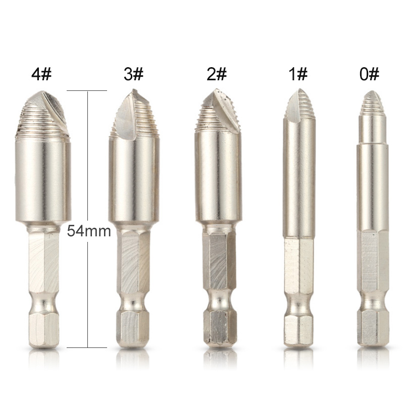 Back To Search Resultstools 5pcs/set Hss Double Side Screw Extractor Center Drill Bits Guide Set Broken Damaged Bolt Remover Removal Speed Easy Out Set Pleasant To The Palate