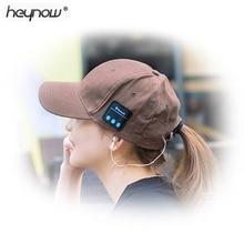 HEYNOW Bluetooth Chapeau Sans Fil casque Musique chapeau Casquettes Smart Casque écouteur Chaud Bonnets d'hiver Chapeau avec Haut-Parleur Micphone(China)