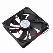 2pin 12025 fan DC cooler dc ventilation 120x120x25mm for computer case cooling