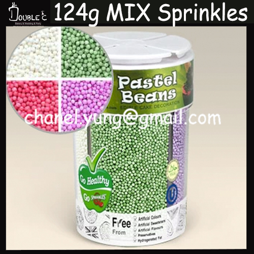 Cake Decorating Balls Fascinating Free Shipping 4 Colors Cells Mix Sprinkles Decorationpopular Decorating Design
