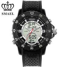 2017 New SMAEL Watches Men Top Luxury Brand Hot Design Military Sports Wrist watches Men Analog Digital Quartz Men Watch Clock,