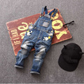 US size might not right Spring Autumn Kids Rompers Child Denim Jumpsuits Children Jeans Pants for Boys and Girls Overalls