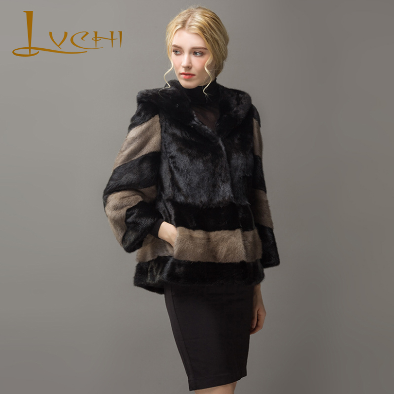 LVCHI Παλτό παλτό δέρματος από δέρμα - Γυναικείος ρουχισμός - Φωτογραφία 2