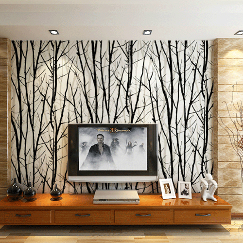 PVC 3D Wall Murals Wallpaper Woods Tree Pattern Striped Wall Papers Living Room TV Background Wall Home Decor papel de parede 3d custom wallpaper european style abstract woods simple living room bedroom tv background wall murals wall papers home decor
