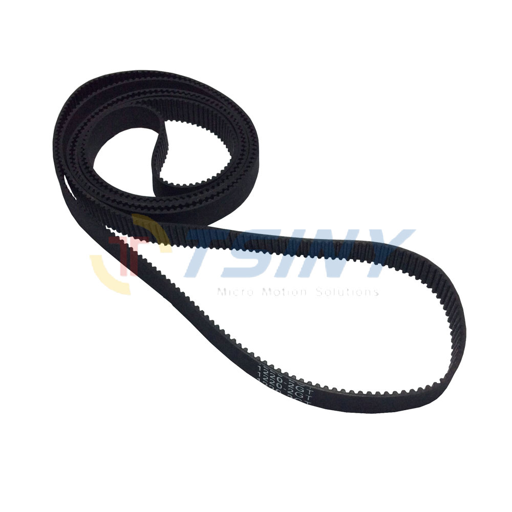 HTD 2GT Arc Tooth Closed Loop Timing Belt GT2 Rubber Width 9mm Length 1220mm 610 Teeth Synchronous Belt CNC/3D Printer gt2 closed loop timing belt rubber 2gt 6mm 3d printers parts 110 112 122 158 200 280 300 400 610 852 mm synchronous belts part