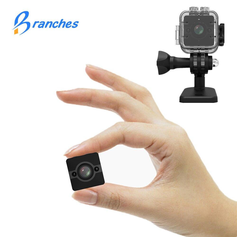 SQ12 HD 1080 p Mini Macchina Fotografica di Visione Notturna Videocamera Portatile di Sport Esterno Auto DVR A Infrarossi DV Video voice per Finestre PK SQ8 SQ 11
