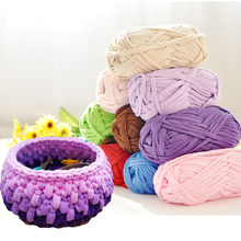 1Pc Hand-knit Woven Thread Thick Yarn Basket Blanket Carpets