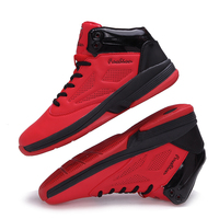 2017 High Top Men S Athletic Basketball Shoes Breathable Outdoor Sneakers Wavy Grip Wear Non Slip