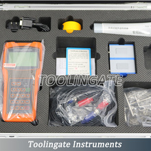portable digital TUF-2000H ultrasonic flow meter flowmeters with HM Bracket Transducer DN50-DN300mm handheld