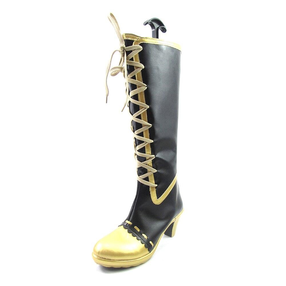 Brdwn Lovelive womens Kousaka Honoka Minami Kotori Sonoda Umi Maid Awaken Long boots/Shoes