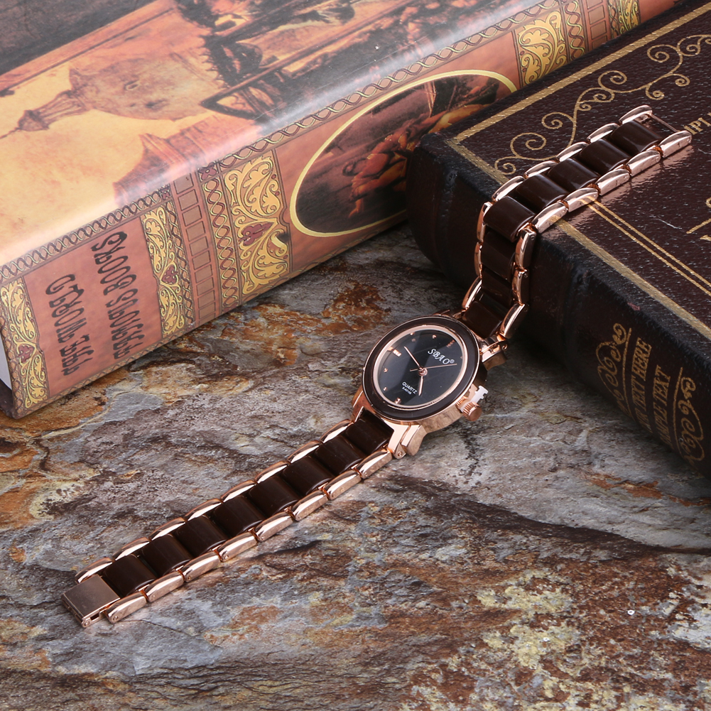 New Trend Ladies Female Fashionable Wristwatch Women s Luxury Bracelet Watch Alloy Ceramic 28mm 1 10