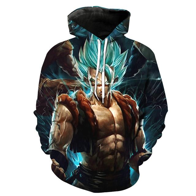 Super Saiyan Blue Goku Sweater