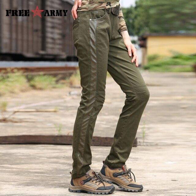Free army militaire femmes pantalon de survêtement vert armée pantalon  cargo femmes active plus pantalon pantalon b8ba45bcea4