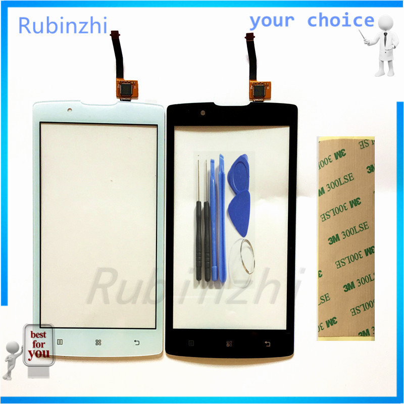 RUBINZHI Mobile Phone Touchscreen For Lenovo A2010 Touch Screen Digitizer Touch Panel Glass Capacitive Sensor Screen free Tape