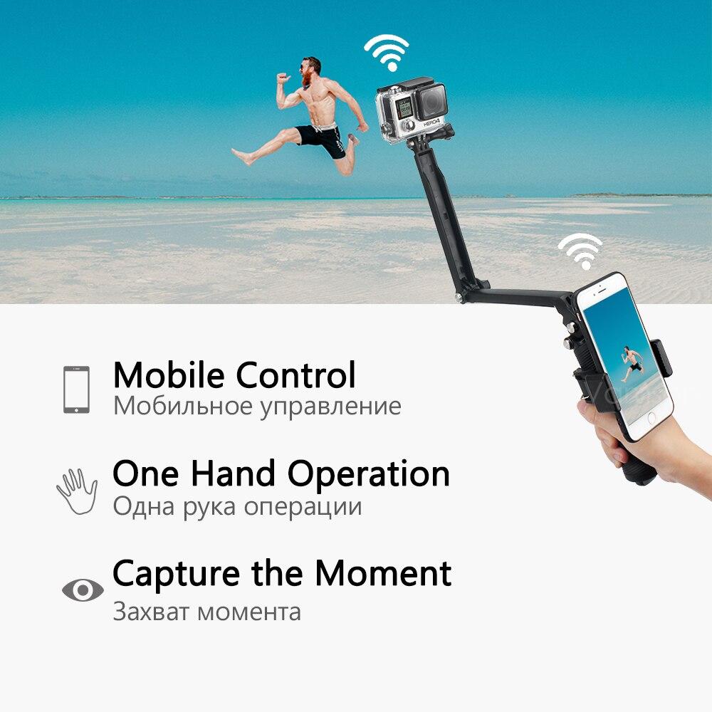 Image 2 - Vamson for Gopro 7 Accessories kit for xiaom yi 4k for gopro hero 7 6 5 4 3 kit mount for SJCAM SJ4000 / eken h9 tripod VS56-in Sports Camcorder Cases from Consumer Electronics