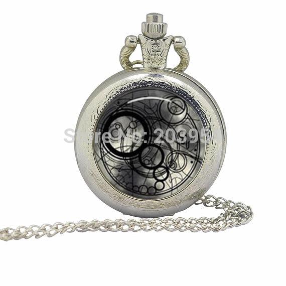 10 шт./партия новые винтажные кварцевые карманные часы 78 см ожерелье антикварные звезды вокруг бронзового металла женские wp216