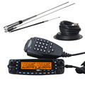 MP800 Quad Band car radio transceptor Zastone walkie talkie Estación de Radio de Dos vías de Radio Con Antena y Antena Del Automóvil de base