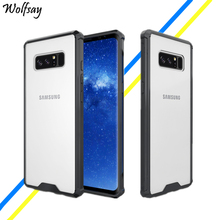 Wolfsay For Cover Samsung Galaxy Note 8 Case Hard Cover For Samsung Galaxy Note 8 Case For Samsung Note 8 Phone Cover Fundas Bag