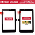 Original 7.0 inch TESTED NEW Touch Screen For ASUS Fonepad 7 Memo HD 7 ME175 ME175CG Touch screen Parts Black Free Adhesive