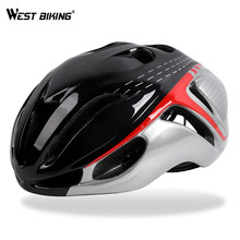 WEST FIETSEN Fietshelm Ultralight Integraal gegoten Road Mountain Mtb Fietshelm Capacete De Casco Ciclismo Helm(China)