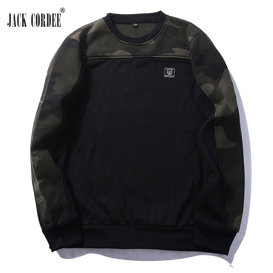 JACK CORDEE Camouflage Sweatshirt Hoodiess