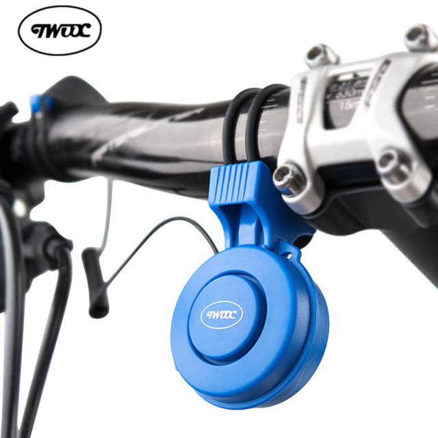 TWOOC Bicycle Bell Cycling Electronic Horns 120 dB USB Charging 3 Modes Waterproof Strong Loud Alarm Bell Safety Cycling Bells