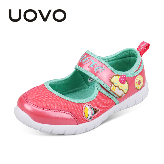 af363854a246 UOVO 2019 new kids shoes fashion girls princess casual shoes light brand little  girls dress shoes for school spring summer