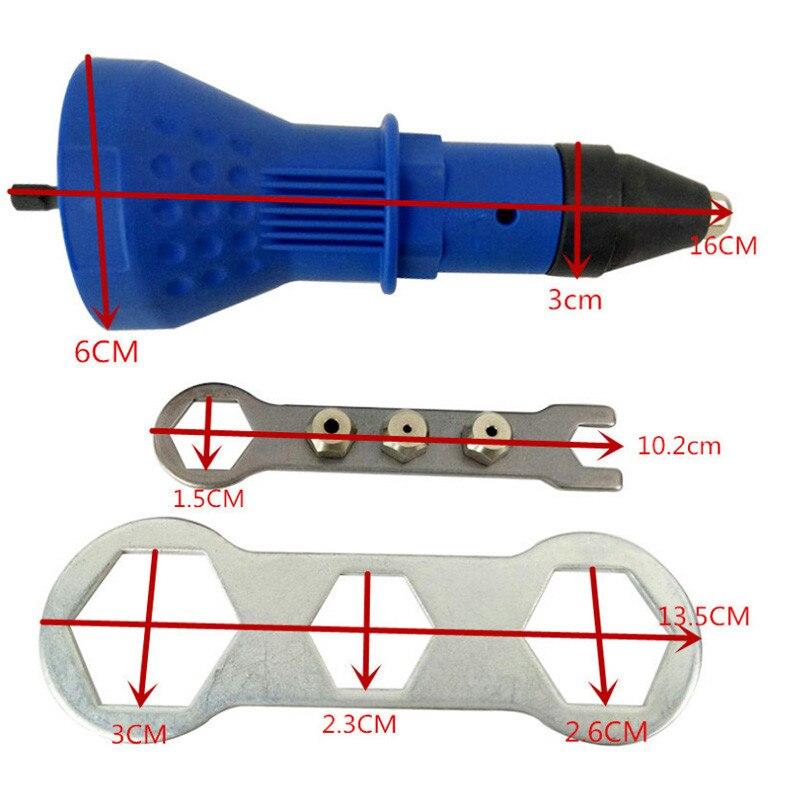 Electric-Rivet-Nut-Gun-Riveting-Tool-Cordless-Riveting-Drill-Adaptor-Insert-nut-tool-Multifunction-Nail-Gun