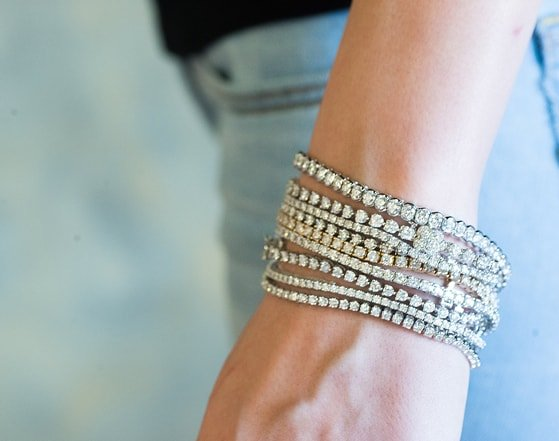 CMajor 925 sterling silver jewelry classic 3mm AAA cubic zirconia tennis bracelet best gift to women wedding jewelry