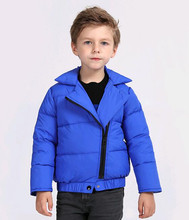 2016 осень и зима детский пуховик модный бренд с длинным рукавом slim fit прочный легкий пуховики для детей