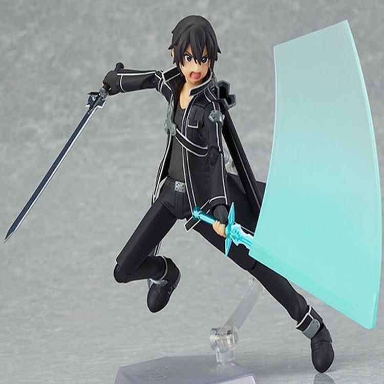 One Line Art Action : Sword art online kirito action figure cm animegoodys