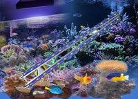 Bán buôn 1 14000 K LED Aquarium ánh sáng 27 w dẫn ánh sáng hồ cá cho rạn san hô 3 năm bảo hành và dropshipping