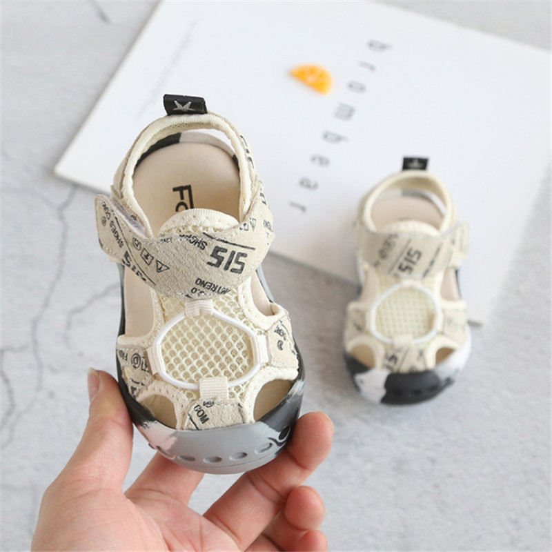Kids Sandals 2019 New Baby Toddler Sandals Soft Breathable Genuine Leather Child Summer Shoes 0-5 Year Boy Girl Beach Sandals