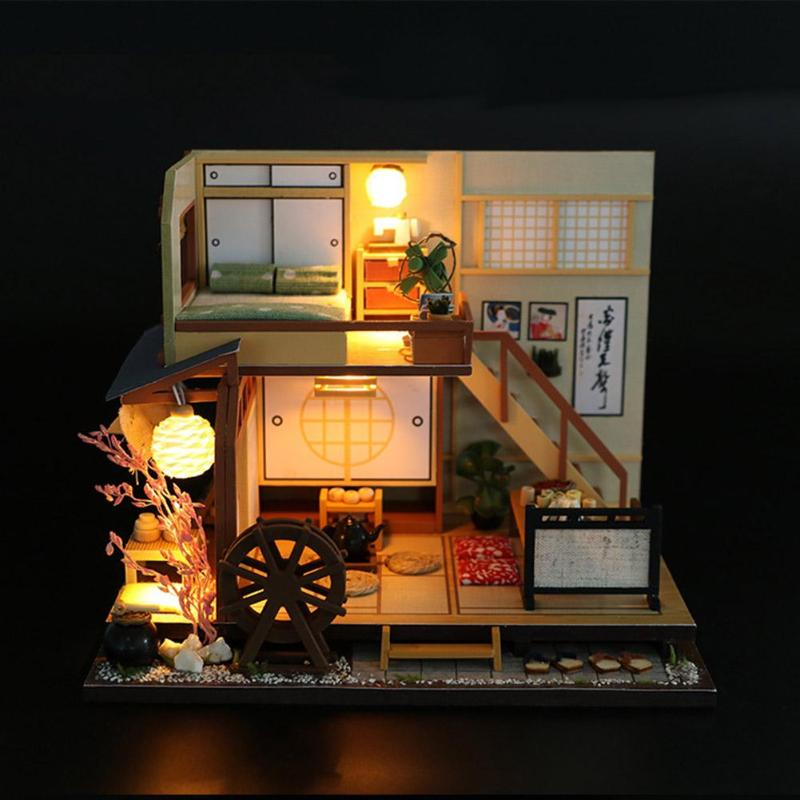 Fall Woods Miniature Dollhouse Doll House Picture